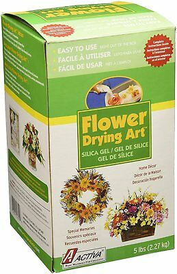 Activa. Silica Gel for Flower Drying 5 Pound