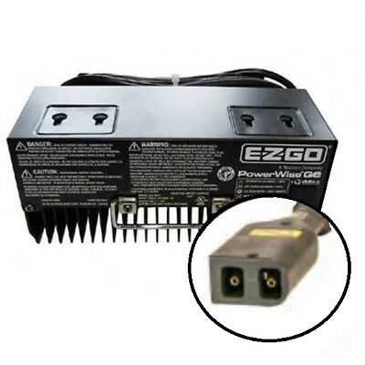 EZGO 36 Volt GOLF CART BATTERY CHARGER TXT OEM POWERWISE QE DELTA Q 915-3610