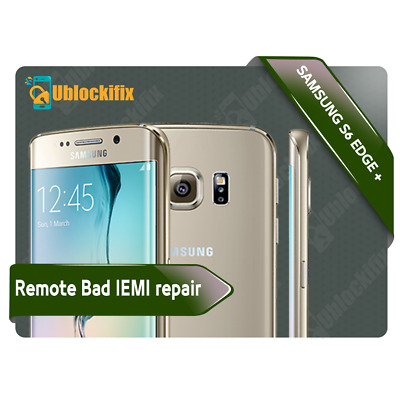 SAMSUNG GALAXY S6-S6EDGE-S6edge Plus IMEI FIX / REPAIR BAD IMEI100%