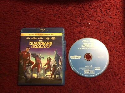 Guardians Of The Galaxy Blu Ray 3D