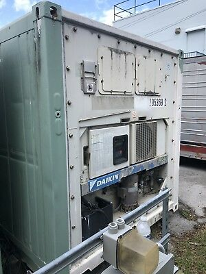 Four Refrigerated Shipping Containers 20ft