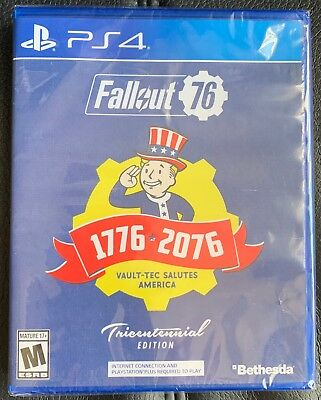 NEW & SEALED Fallout 76 Tricentennial Edition - PS4 Game by Bethesda