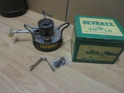 rare bevarex army camp stove from Czech Republic