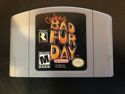 Conker's Bad Fur Day - N64 ( Nintendo 64 ) Game Only * AUTHENTIC* !