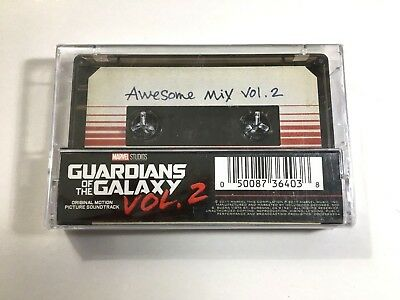 Guardians Of The Galaxy V2: Awesome Mix Vol. 2 (2018 Cassette Tape)