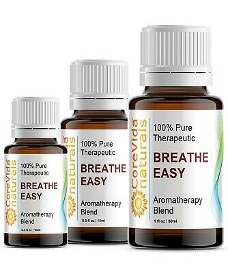 Aromatherapy Essential Oil Blends 100% Pure 50+ Blends CoreVida Naturals