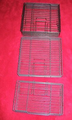 Lot 3 Ronco Showtime  4000 Rotisserie Replacement Part Wire Small Large Basket