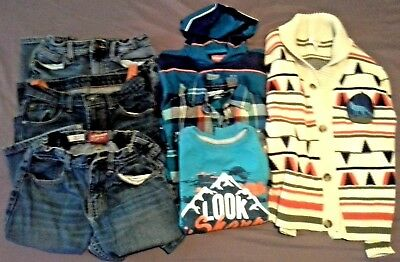 Lot of-7 Kids size 8 mix clothes