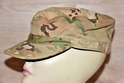 Army GI Genuine Issue Multicam OCP Patrol Cap Hat Size 7 5/8 Sam Bonk