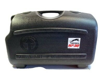 Survivair Panther Carrying Storage Case Black Molded Plastic Scba