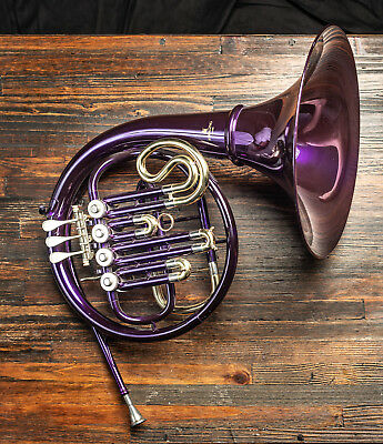 Sterling French Horn Bb Single (with case) purple