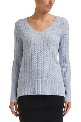 NEW Sportscraft Womens Annie Cable Knit Jumper Cardigan Top Warm Clothing