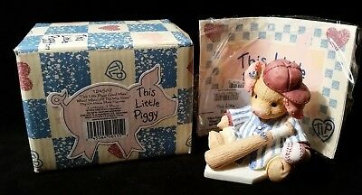 Enesco This Little Piggy 'whee Whee All The Way Home'' Numbered & Register! *