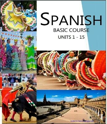 Spanish Basic Course Volume 1(mp3 and pdf) best Method of self-education
