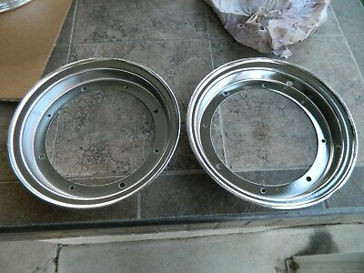 "HONDA CT70 ct 70 ST70 DAX 10"" rims set of 4 chomed new chromed rims"