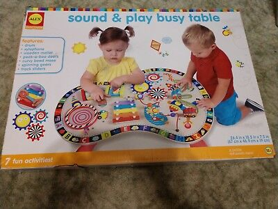 Alex Jr Sound And Play Busy Table Best Baby Toy 57 78 Picclick