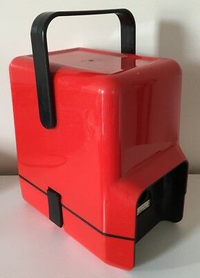 Vintage Retro Decor Insulated Wine Cask Cooler Carrier Holder - Red