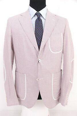 eef2981ba20b9 NWT Junya Watanabe Comme des Garcons Sport Coat Cotton Micro Check Large 38S