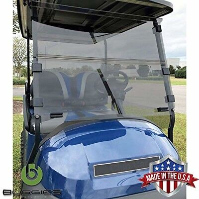 Buggies Unlimited Club Car Precedent 2004-Up Folding Golf Cart Tinted Windshield