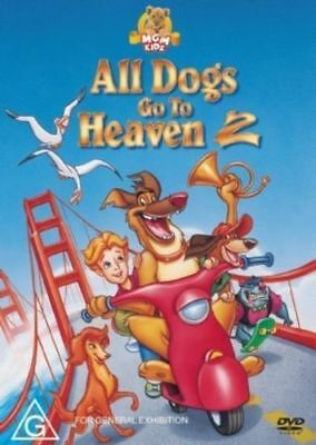 All Dogs Go To Heaven 2 - Charlies New Adventure [DVD] KIDS MOVIE - RARE !