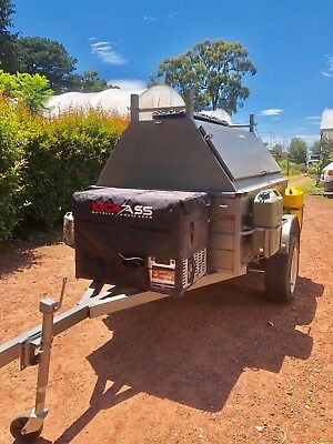 Off-Road Camping/Tradesman Trailer