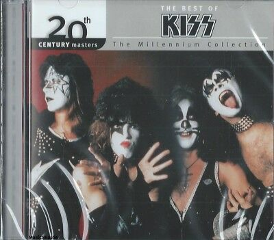 KISS -The Millennium Collection / Best Of Kiss - Metal Hard Rock Pop Music CD