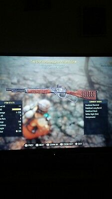 Fallout 76 Ps4 11 2 shot explosive gun bundle plus extra