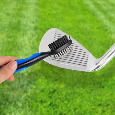 Golf Club Cleaning Brush Groove Cleaner Tool Iron Club Brush Hook to Gifts HPL
