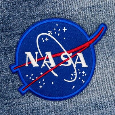 Outer Space NASA Embroidered Sew On Iron On Patch Badge Fabric Applique Transfer