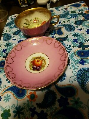Royal Sealy China Tea Cup And Saucer Made In Japan