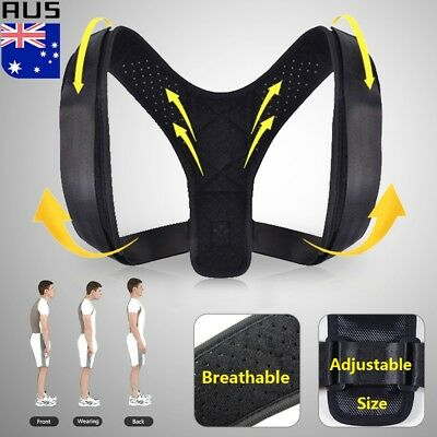 Posture Clavicle Support Corrector Body Shoulder Back Straight Spine Brace Strap