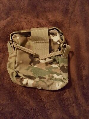 New MOLLE II Medical Pocket Pouch (1) - Multicam OCP External Medical Pouch USGI