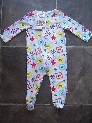 BNWT Baby's Unisex The Very Hungry Caterpillar Cotton Knit Coverall/Romper 000