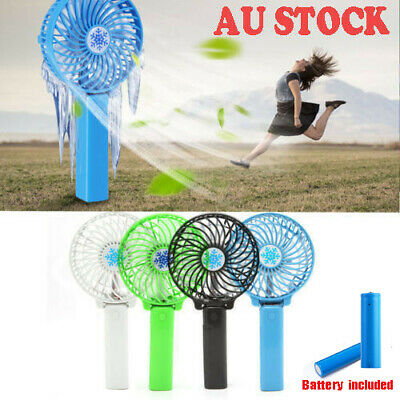 Mini Portable Pocket Fan Cool Air Hand Held Cooler Usb Rechargeable Electric