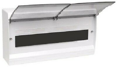 HPM SURFACE MOUNT SWITCHBOARDENCLOSURE HPMHEE18S 383x214x104mm 18-Poles