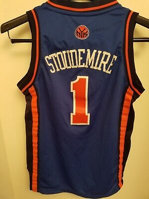 a7aa1051711d ... authentic adidas authentic amare stoudemire new york ny knicks 1 jersey  youth m sewn fcc01 93c8a