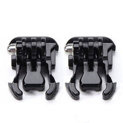 2pcs Quick Release Flat Buckle Clip Mount for Gopro Hero Session Cameras Parts