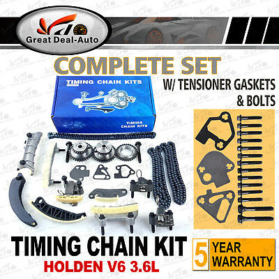Fit For Holden Rodeo Captiva Colorado Alloytec V6 Timing Chain Kit Gears