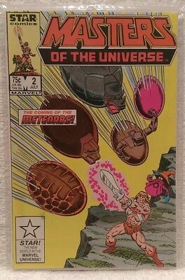 Marvel / Star - MASTERS OF THE UNIVERSE #2 He-Man Comic - 1986 Series - PRISTINE