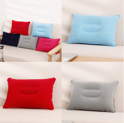 Outdoor Travel Air Pillow Beach Inflatable Cushion Camping Car Head Rest Pillow