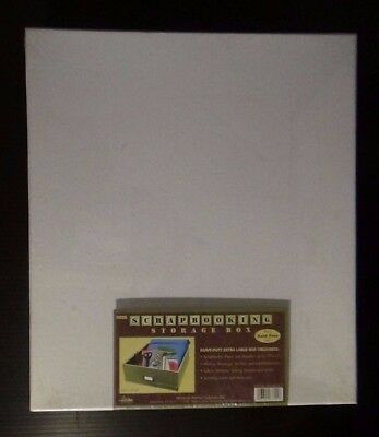 "Pioneer Large White Scrapbooking Photo Box Acid Free 14"" x 14"" x 3"" NEW"
