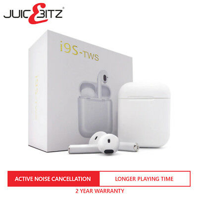 i9S TWS Style Bluetooth New Wireless Earpods Earphones for iOS/iPhone or Android