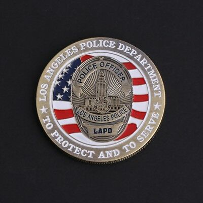 American Police Saint Michael Commemorative Coin Arts Collection Souvenir Gifts