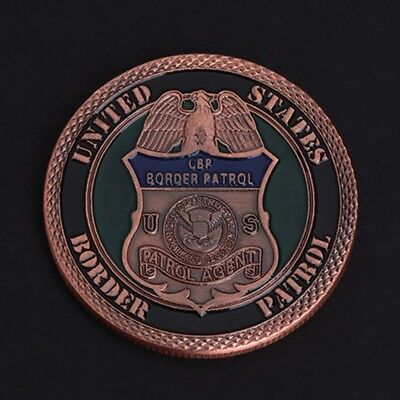 American Border Patrol Security Commemorative Coin Collection Souvenir Arts Gift