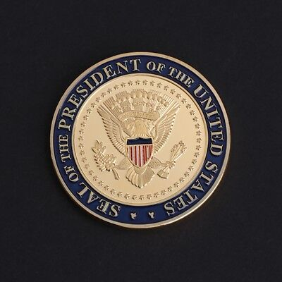 US 45th President Donald Trump Commemorative Coin Arts Collection Souvenir Gifts