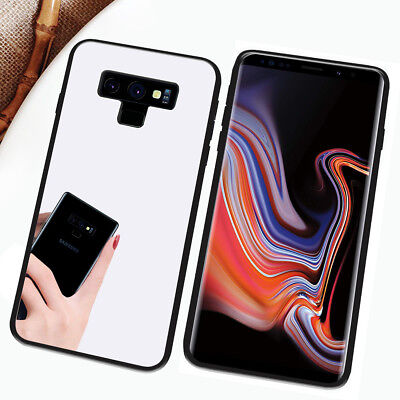 Galaxy note 9 Case,Girl's Cute Stylish with Glitter Ultra-Thin Mirror TPU Cover