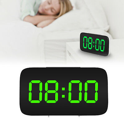 Fashion Alarm Clock Large Digital LED Display USB/Battery Operated Sound Control