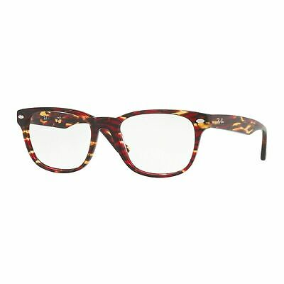 Ray Ban Rx5359 5710 Cal.53 Occhiale Da Vista Rosso Red Eyeglasses Sehbrille Man