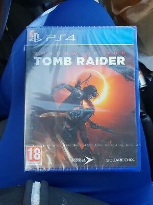 shadow of the tomb raider ps4 neuf