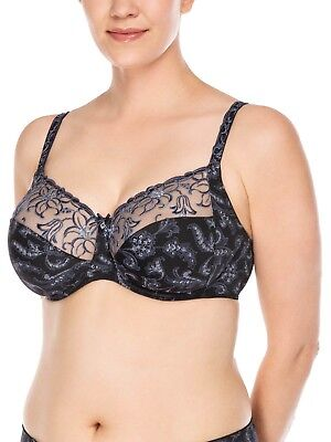 Full Figure Underwired Bra Zoe Mint 4123 by Ulla Dessous